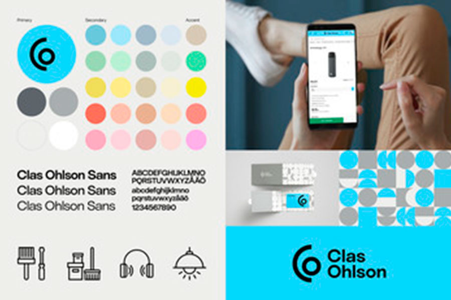 Clas Ohlson launches new visual identity